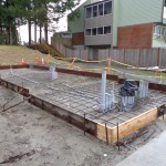 Prepped for concrete