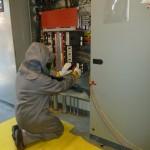 Installing I-line circuit breaker